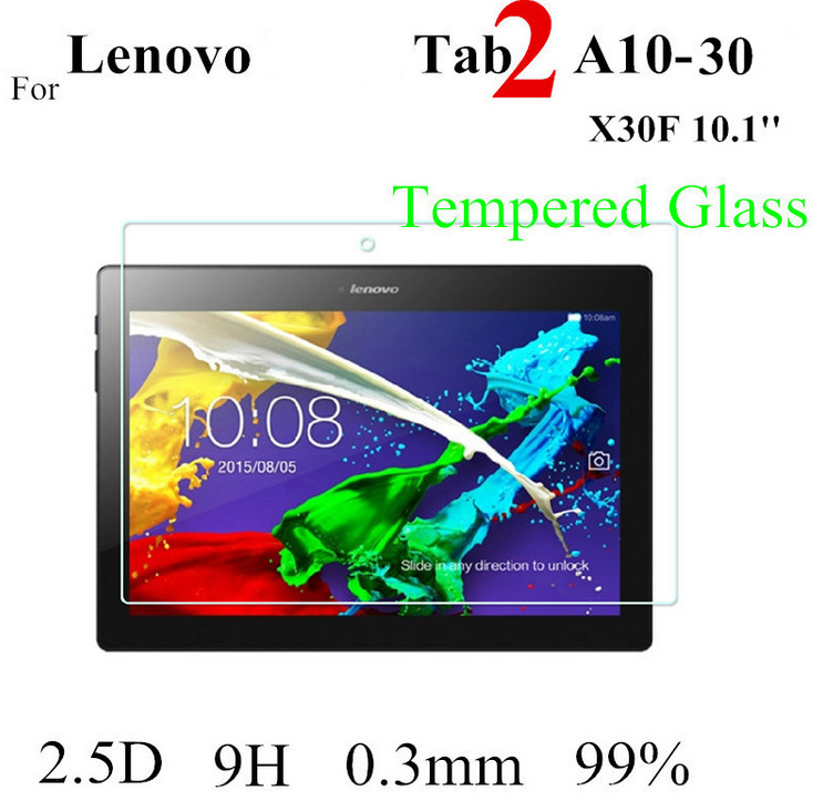 Tab2 A10-30 X70F Tempered Glass Protective film For Lenovo TAB 2 A10-70 X30 X30F/M Glass Screen Protector tab3 10.1 x70f for lenovo tab 2 a10 30 x30 case magnet stand pu leather case protective skin shell case cover for tab 2 a10 x30f x30l case