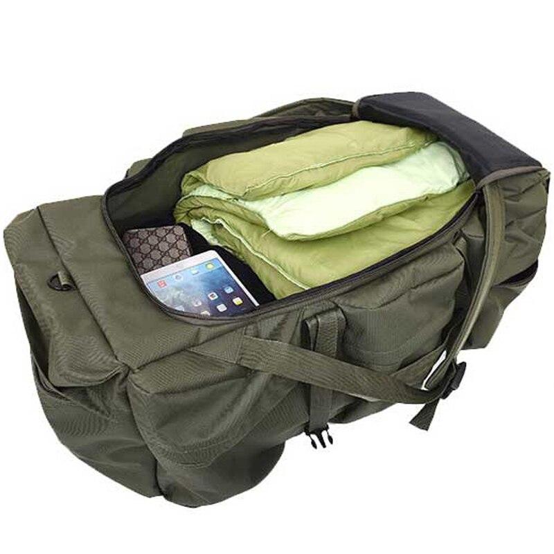 Mochila táctica militar de gran capacidad de 90 L para hombre impermeable Oxford senderismo Camping mochilas resistente al desgaste bolsa de viaje - 3