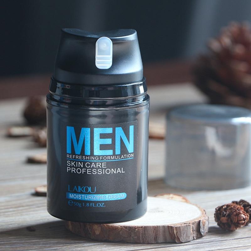 Natural Men's Face Lotion Moisturzing Oil Balance Brighten Pores Minimizing 50g Men Facial Skin Care Cream QS888