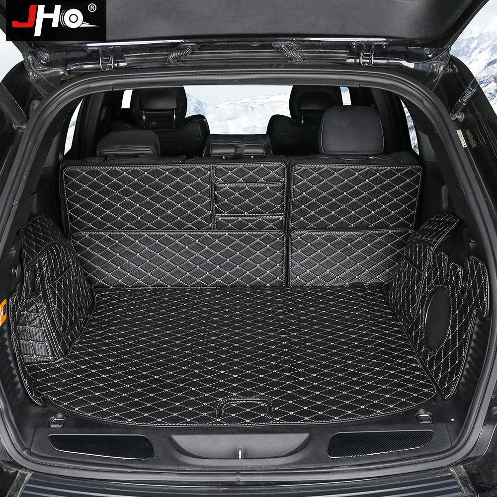 JHO Car Accessories Trunk Cargo Liner Non-slip Protective Cover Mats For Jeep Grand Cherokee 2011-2018 2017 2016 2015 2014 13 12JHO Car Accessories Trunk Cargo Liner Non-slip Protective Cover Mats For Jeep Grand Cherokee 2011-2018 2017 2016 2015 2014 13 12