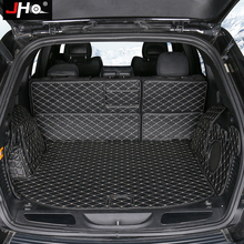 цены JHO Car Accessories Trunk Cargo Liner Non-slip Protective Cover Mats For Jeep Grand Cherokee 2011-2018 2017 2016 2015 2014 13 12