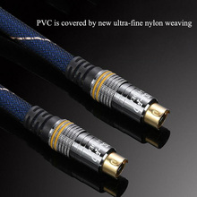 High Quality Video Line S Video 4pin 4P Male to Male M M s vedio Cable