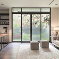 Milchglas aufkleber bad aufkleber transparent opaque elektro film wohnzimmer schlafzimmer dekorative fenster aufkleber-in Dekor-Folien aus Heim und Garten bei