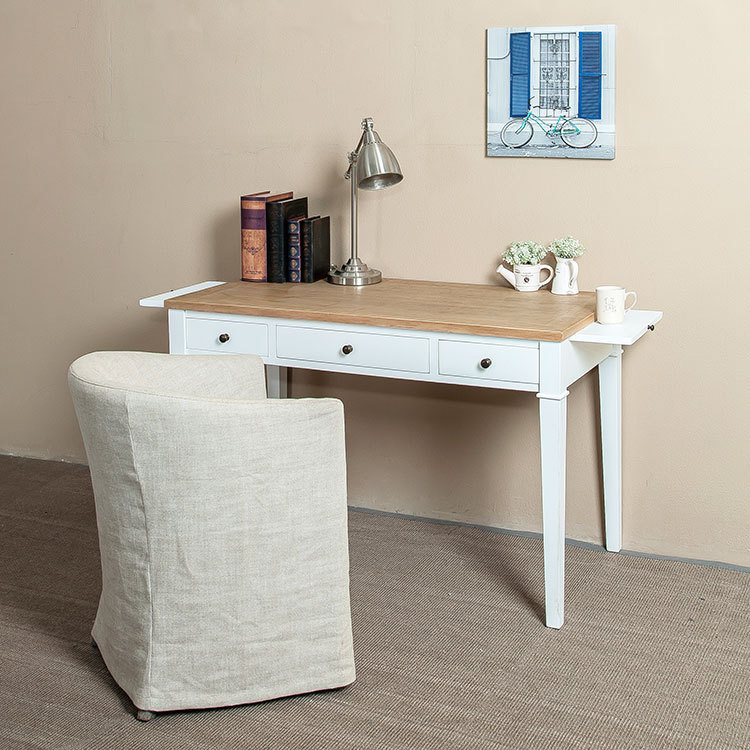 European Minimalist Vintage White Birch Wood Furniture Oak Desk / Drawers  Computer Desk With Pumping Plate In Dressers From Furniture On  Aliexpress.com ...