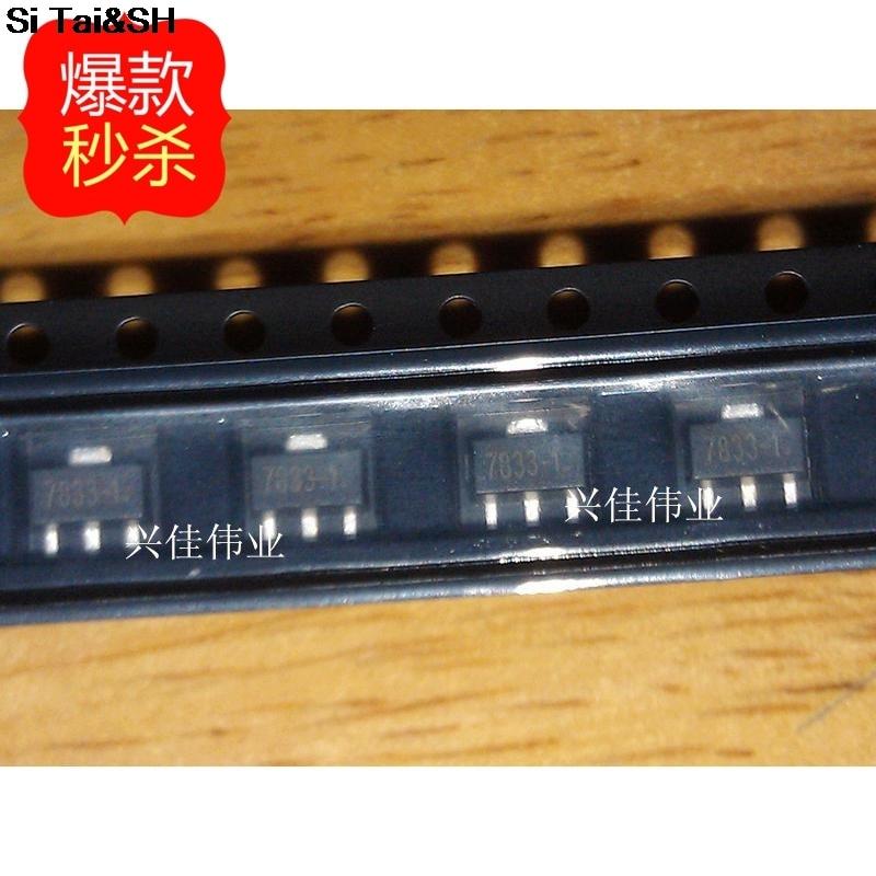 Ldo Voltage Regulators Integrated Circuits Chips Sot89 Ts9011scy 1