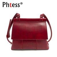 2018 New Women Messenger Bags Small Designer Brand Leather Vintage Shoulder Bag Female Flap Crossbody Bags