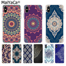MaiYaCa mandala flor Na Venda! Luxo Caso Legal para iphone 11 pro 8 7 66S Plus X 10 5S SE XS XR XS MAX Coque shell(China)