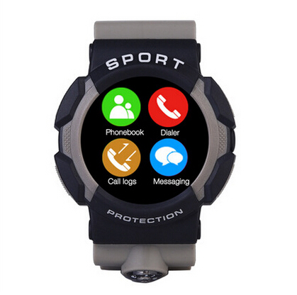 ФОТО 2016 New Arrival Limited Waterproof Outdoors Ip67 Smart Watch Mountaineer Sport Heart Table A10 Outdoor Sports Watches 1.3inch
