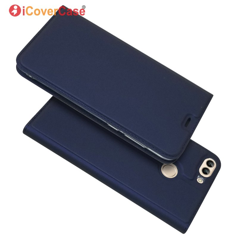 Wallet Cover Phone-Cases Etui Magnet Coque Flip Huawei P Smart Book-Card Hoesje