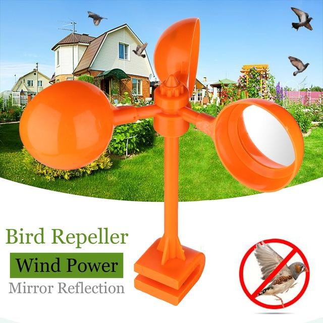 S M Plastic Bird Repellents Scarer Wind Birds Crow Deter Decoy Tools Orchard Garden