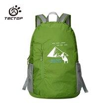 TECTOP 2016 outdoor bag Unisex Multifunctional Backpacks Outdoor Folding Skin Bags Sports Hiking Camping Climbing Bag Waterproof