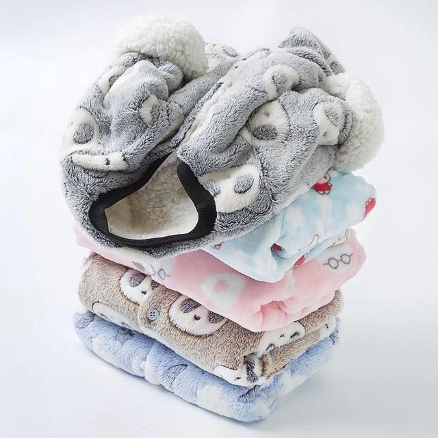 Plus velvet jacket baby autumn and winter baby cotton jacket children warm underwear cotton thickening female male baby cotton