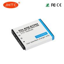 JHTC 1Pc 1400mAh NP-50 FNP50 NP50 KLIC-7004 KLIC-7004 K7004 D-Li68 Camera Battery For Fujifilm X10 X20 XF1 F50 F75