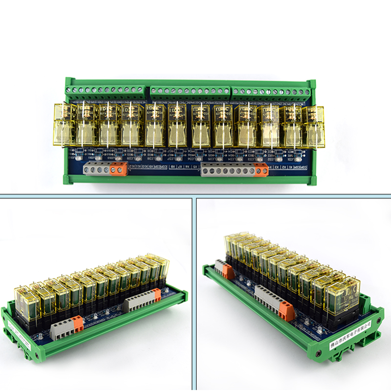 Relay single group module 12 way compatible NPN PNP signal output PLC driver board control board in Relays from Home Improvement