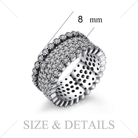 Jewelrypalace 925 Sterling Silver lavish Shimmering Cocktail Ring For Women New Hot Sale As The Best Gifts Multan