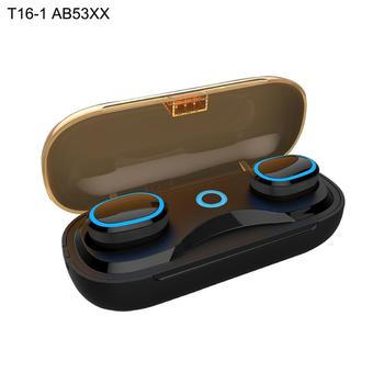 Bluetooth Earphones True Wireless Earbuds TWS 5.0 Sports Earphones Stereo Bass Headset Noise Cancelling For Phones