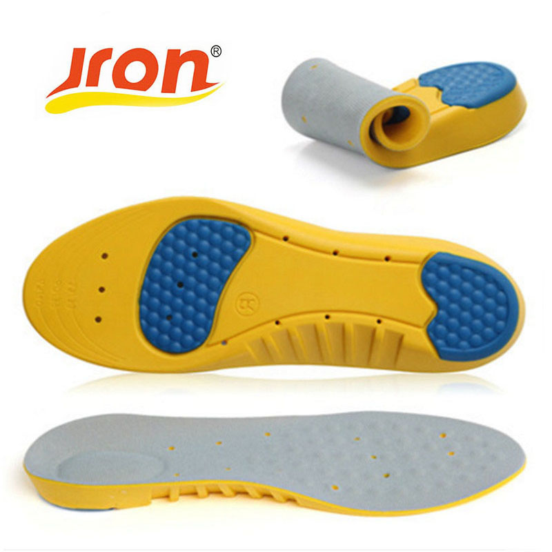 Sport Insoles Shock Absorption Pads Running Sport Shoe Inserts Breathable Insoles Foot Care Expert Men And Women Soft PU expfoot orthotic arch support shoe pad orthopedic insoles pu insoles for shoes breathable foot pads massage sport insole 045