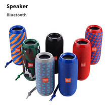 10W Wireless Stereo column Bluetooth portable Speaker PC Phone Music center Subwoofer Built-in Mic Bass FM USB TF Sound Boom box(China)