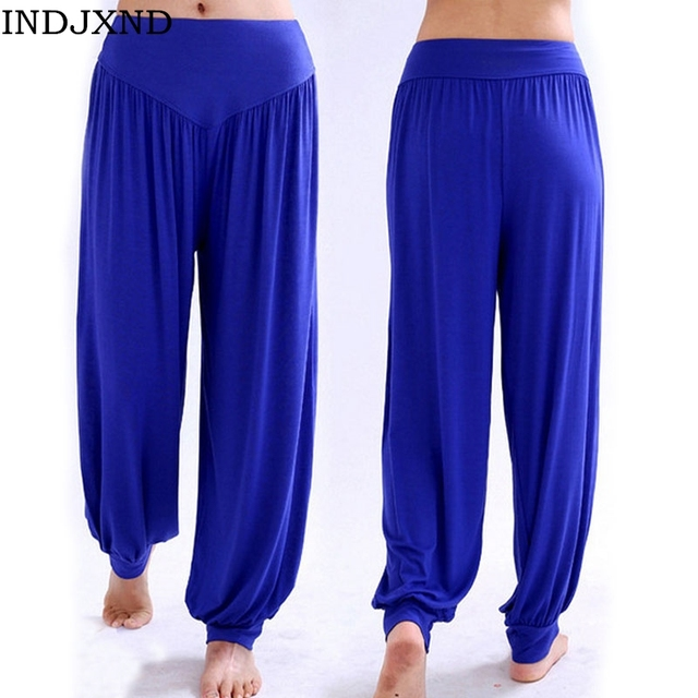 2017 candy color deportes trousers female pure joggers loose