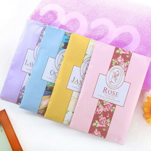 Alta qualidade 2019 novo scented gaveta saquinho ambientador pot pourri fragrância perfume fresco