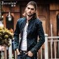 2015 Vintage Denim Jacket Mens Fall Fashion Men Slim Fit Jeans Jackets Man's Winter Casual Jeans Clothing XXXL A775