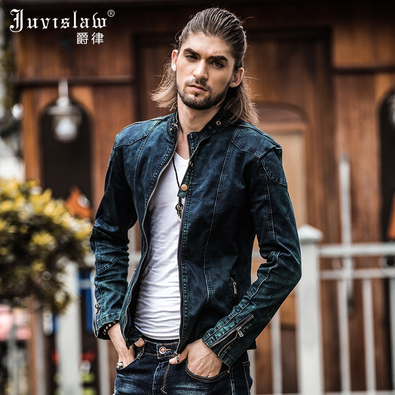 Aliexpress.com : Buy 2017 Vintage Denim Jacket Mens Fall Fashion ...