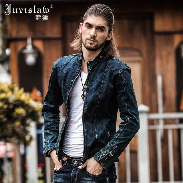 Aliexpress.com : Buy 2017 Vintage Denim Jacket Mens Fall Fashion ...