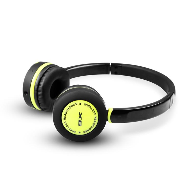 Salar X6 Bluetooth Headphones Wireless Stereo Headset Deep bass Headphones with Microphone for phone  symrun headphones stereo headset with microphone earphone for phone and laptop bluetooth headphones wireless or wired deep bass