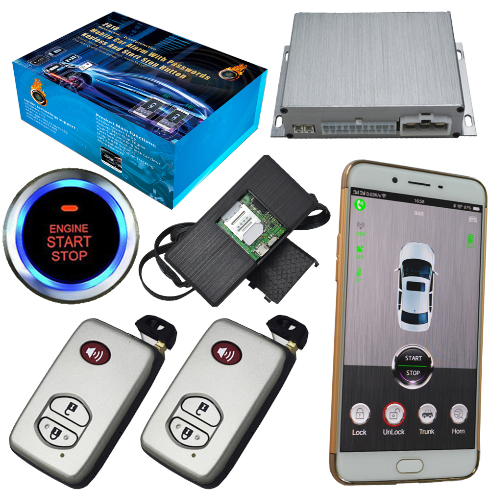 smart phone mobile app car security alarm system gps tracking online real time location smart ...