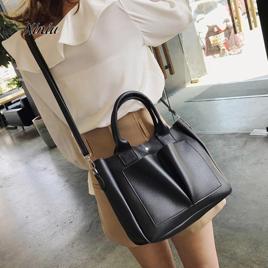 1 Stück Crossbody-tasche Frauen Leder Schulter Taschen Retro Umhängetasche & Handtasche Hohe Qaulity Frauen Business Schulter Taschen