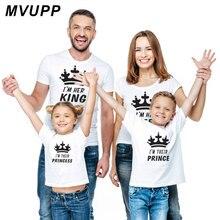 """Одежда для всей семьи папа «mommy and me» футболка в семейном стиле для папы, сына мать и дочка, одежда для мам и маленьких девочек платья """"Корона"""""""