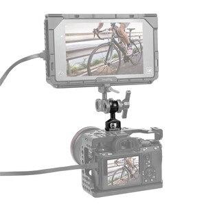 Image 4 - BallHead com Pinos de Fixação Para Montar Câmera Arri SmallRig/Monitor de Gaiola Com a Localização dos Pontos de Arri 2114