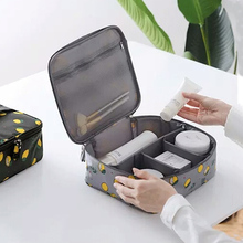 цены Travel Ladies Bag Cosmetics Cosmetic bag Women Makeup Bag Toiletry Travel Kits Beautician Storage Bag Large Capacity