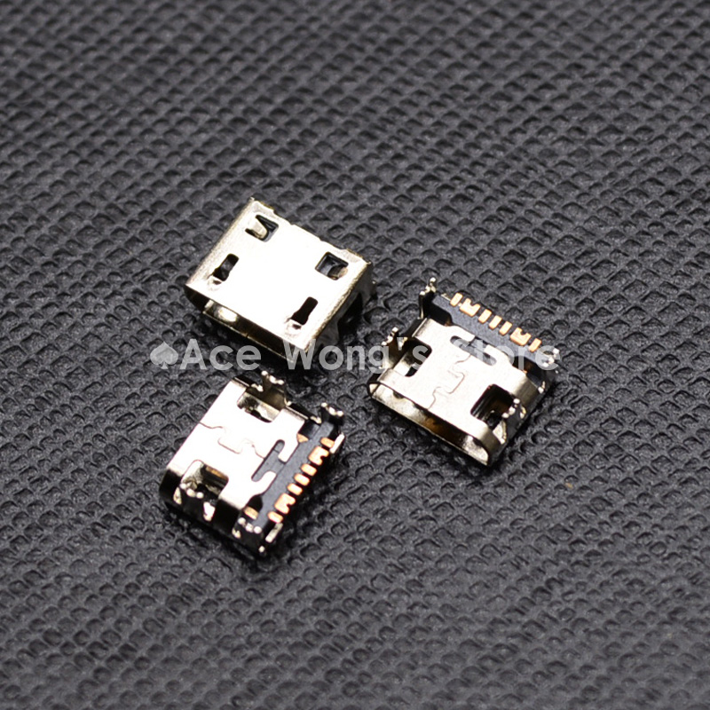 10pcs Micro USB 5pin B type Female Connector For Mobile Phone Micro USB Jack Connector 5 pin Charging Socket 10pcs micro usb 5pin male plug connector welding type for tail charging mobile phone high quality sell at a loss
