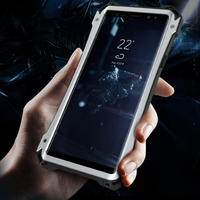 R JUST Case For Samsung Galaxy Note 9 Cover Armor Hybrid Shockproof Hard Heavy Duty Phone Case for Galaxy Note 9 Cover Coque