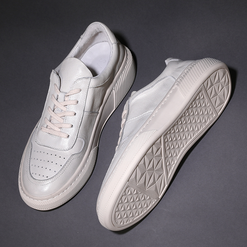 Offre Et En Chaussures Mycoron Semelles Hommes Zapatos Hiver Nouveaux Haut Cuir Bottes dessus Blanches Épaisses blanc Baskets Spéciale À Noir Automne Deportivos 7gmIYfb6vy