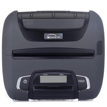 "Pocket Thermal Printer Portable Bluetooth Printer 4 ""112MM Thermal Printer Handheld Receipt Printer WSP-I450 for WOOSIM"