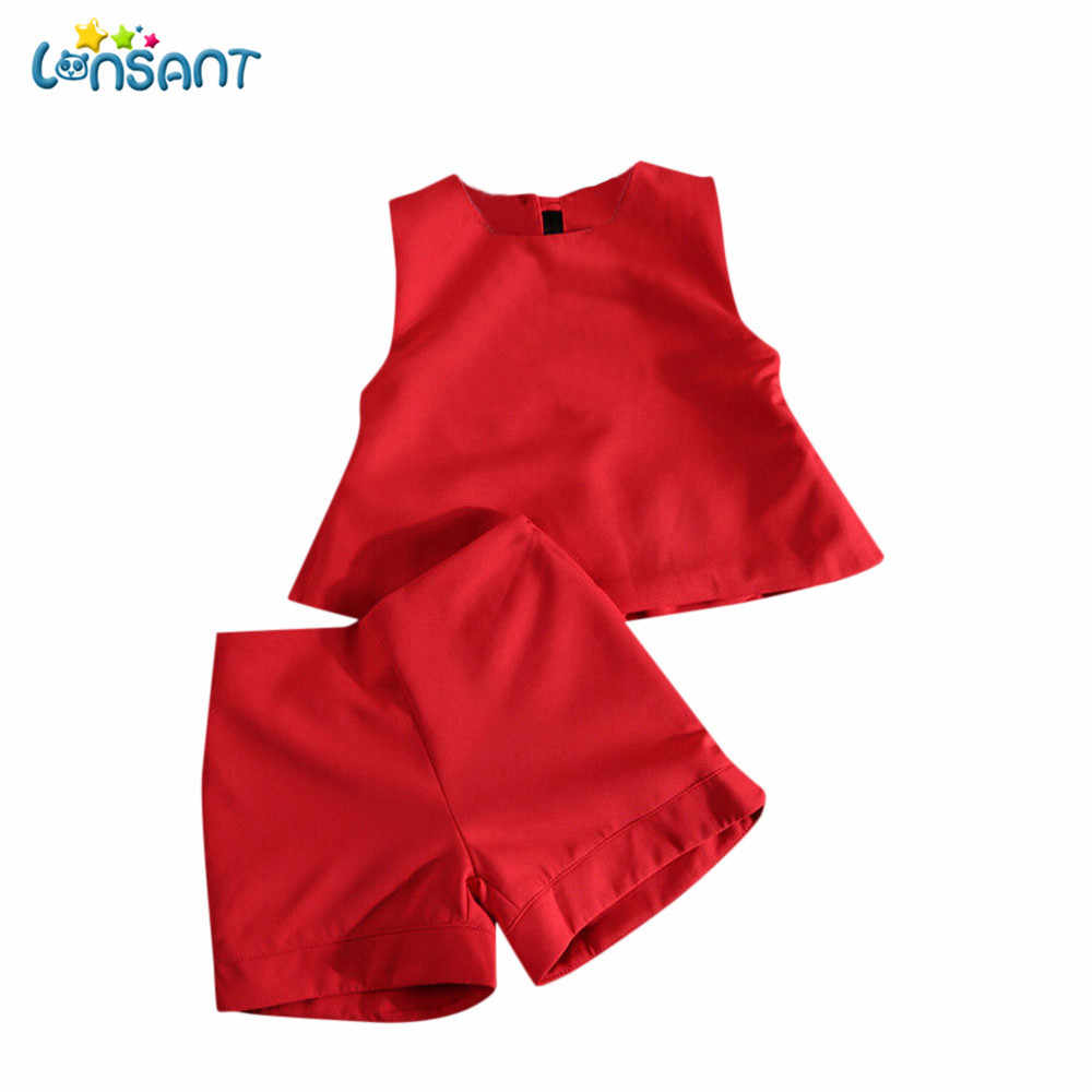 fb631ca42 Detail Feedback Questions about LONSANT Cute Baby Kids Girls Red ...