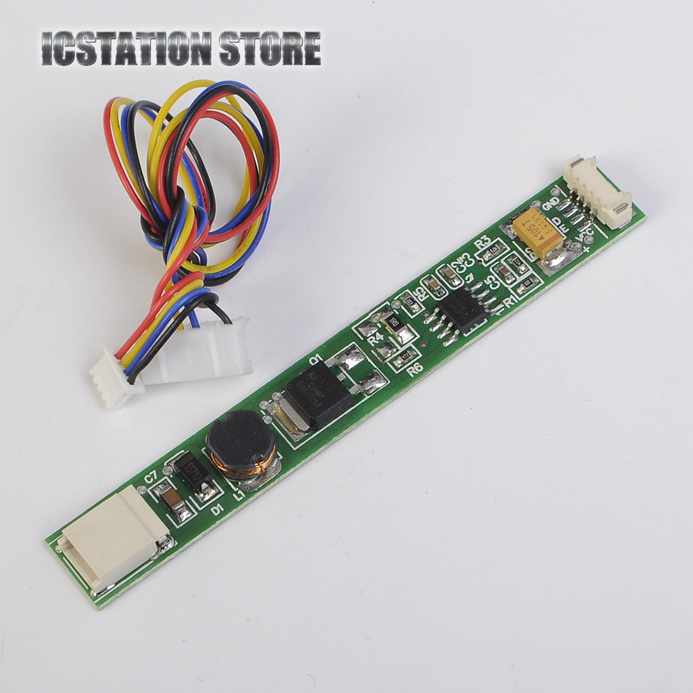 CA-166 Laptop LED Constant Current Driver Board Adjustable Light 10-30V Input 9.6V Output Step down Buck Power Module 7 5w 300ma constant current regulated led driver circuit board module black
