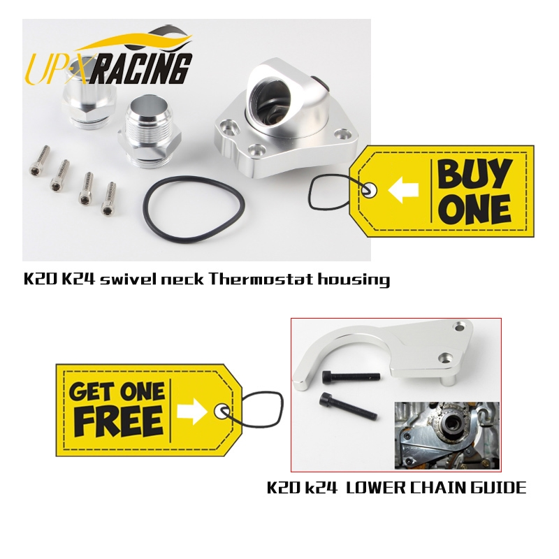 Universal K20 K24 car engine cooling Components swivel neck Thermostat Housings