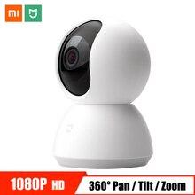 Xiaomi IP камера WiFi 1080P HD умная домашняя камера видеонаблюдения Мини Беспроводной Детский монитор PTZ инфракрасная камера ночного видения видео веб-камера