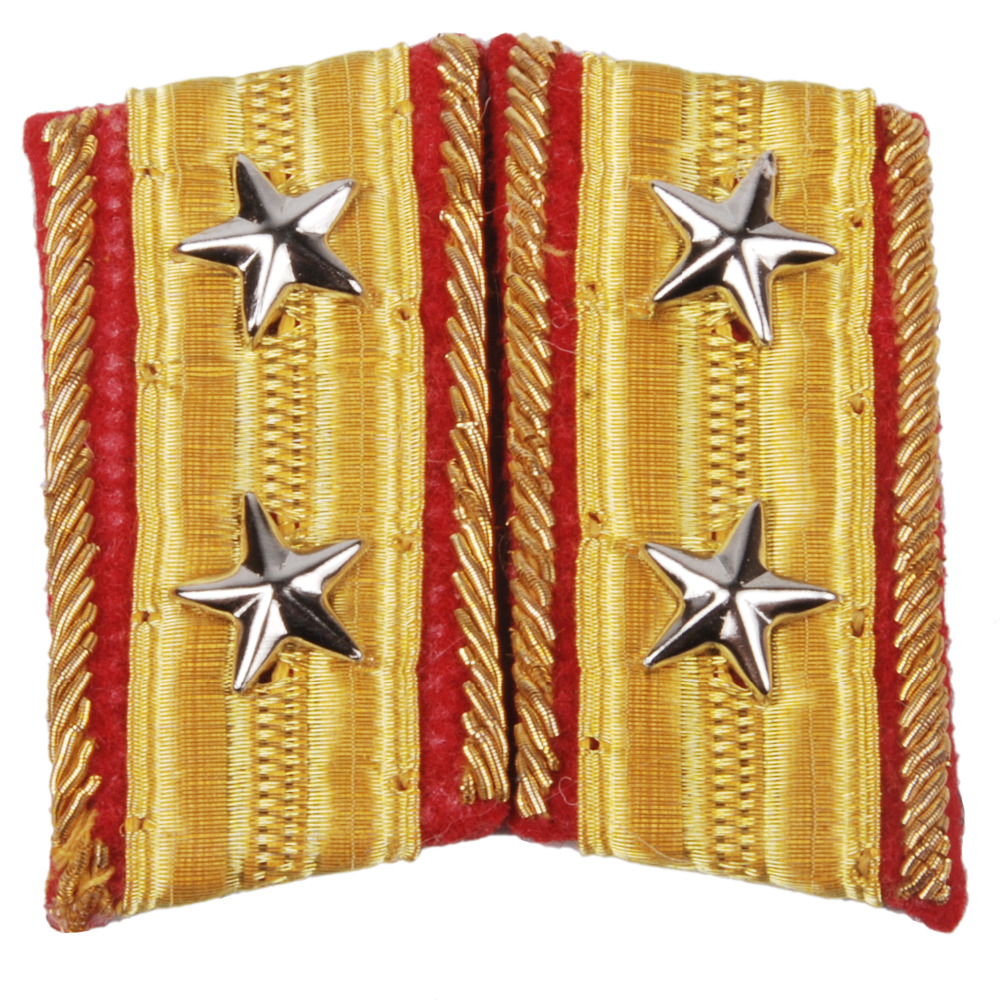 WWII IMPERIAL JAPANESE ARMY LIEUTENANT GENERAL COLLAR TABS-35383