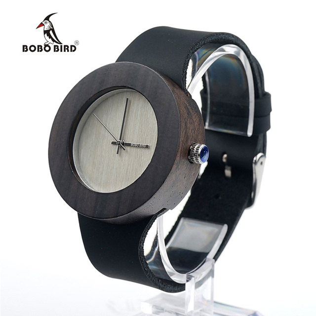 in strap none grey for product lyst burgundy case face men normal watches accessories bravur black
