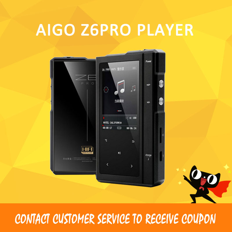 ASD Moonlight AIGO Z6Pro Hifi Music Player Hard DSD MP3 Player ES9018Q2C DAC Dual-Core CPU+Leather Case NXPLPC4357 Max32GB aune s18 32bit dsd asynchronous cpld dual clock hifi music player dual clock digital turntable