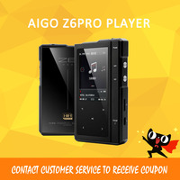 ASD Moonlight AIGO Z6Pro Hifi Music Player Hard DSD MP3 Player ES9018Q2C DAC Dual Core CPU+Leather Case NXPLPC4357 Max32GB