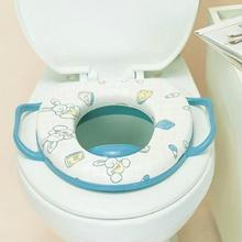 Baby Infant Safety Child Potty Training Portable Car Toilet Bowl Seat Cover Ring Wc Random Colors(China)