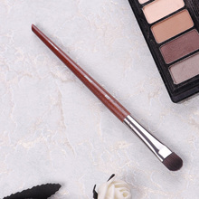 Professional Eye shadow Brush Wood Handle #228 Medium Dense Rounded Shader Brush Eyebrow Arch Make up Brush Cosmetic Tool professional eye shadow brush wood handle 230 large flat tapered shader brush eye detail make up brush cosmetic tool
