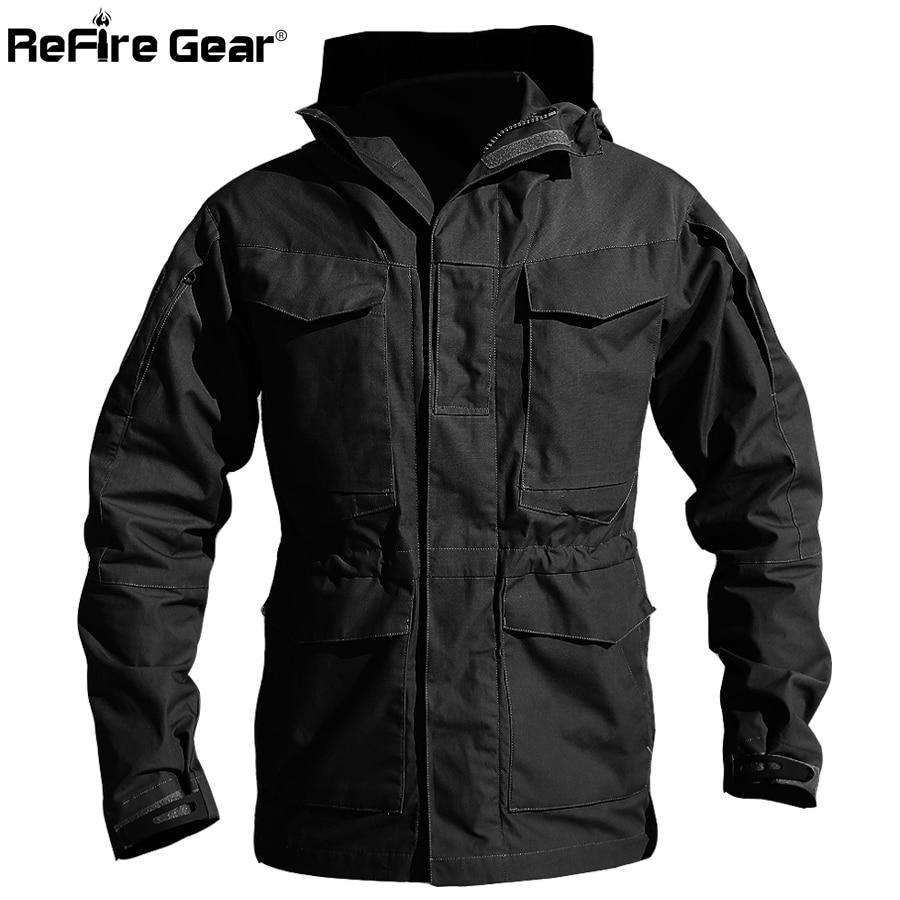 Erkek Kıyafeti'ten Ceketler'de M65 İNGILTERE ABD Ordu Kıyafetleri Rahat Taktik Rüzgarlık Erkekler Kış Sonbahar Su Geçirmez Uçuş Pilot Ceket Hoodie Askeri Alan Ceket'da  Grup 2