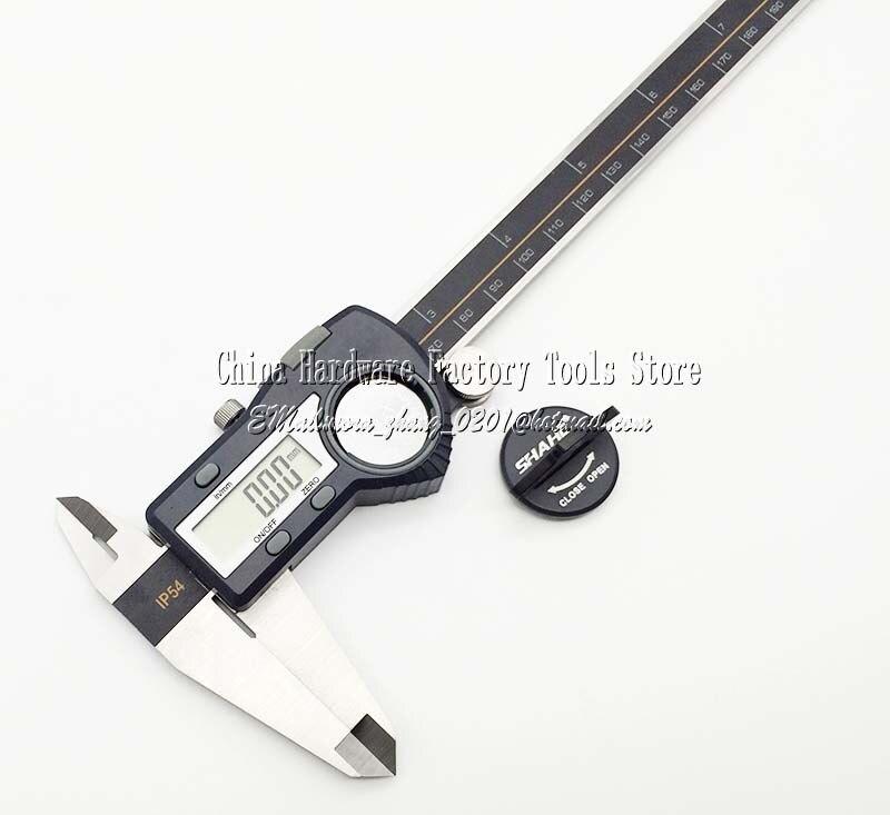 цена High quality Digital display calipers.0-150mm 0-6inch digital vernier caliper.