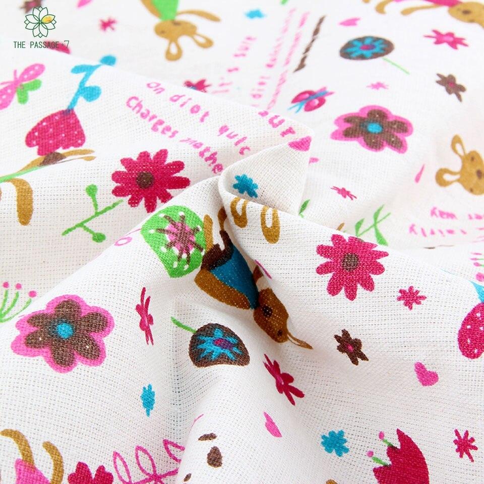 Beeindruckend Sofa Patchwork Referenz Von Print Cartoon And Floral Series Cotton Linen